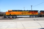 Side shot of BNSF 7388 as she pulls west with the Z KCK-SBD Stack train towards Barstow, Ca.