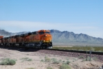 BNSF 7388 almost on top of me as she rolls towards Barstow, Ca with the ZKCK-SBD stack train.