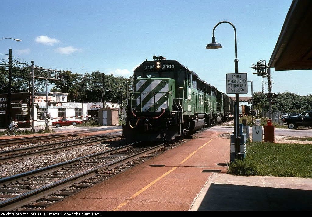 BN 3103 and 3106