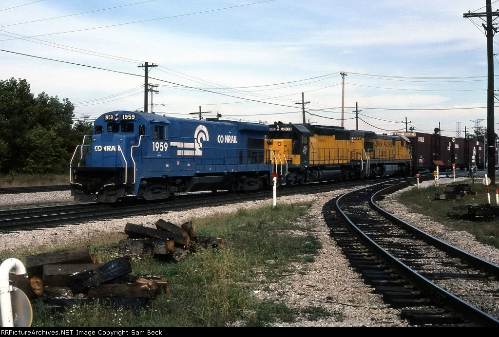 CR 1959, CNW 6903, and UP 2829
