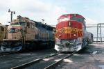ATSF 3806 and 119 at Corwith