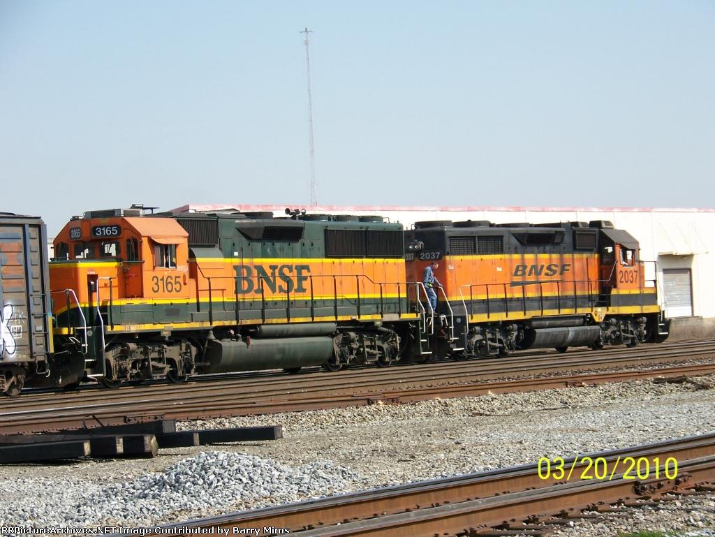 BNSF to NS transfer