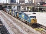CSX 4787 leads CSX empty coal train T108