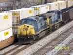 CSX 1 leads train U239
