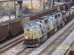 TFM 1665 leads NS train 339