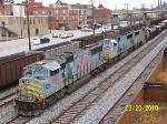 NS train 339 heads south