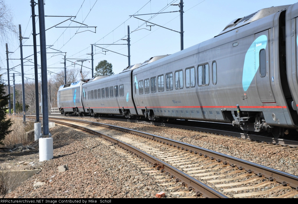 Acela train #2163