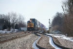 CSX 4810 and some stacks