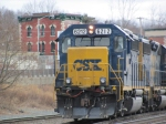 CSX Local Pulls out of Palmer Interchange