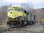 New England Central Railroads Leased Susquehana 4052