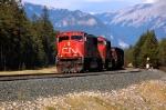 very heavy coal train