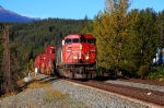 CN intermodal with full body cab lead