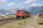 CN westbound intermodal