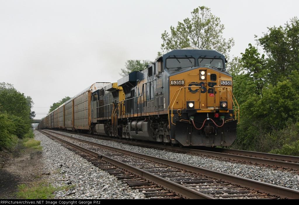 CSXT 5358 at Rosedale, MD