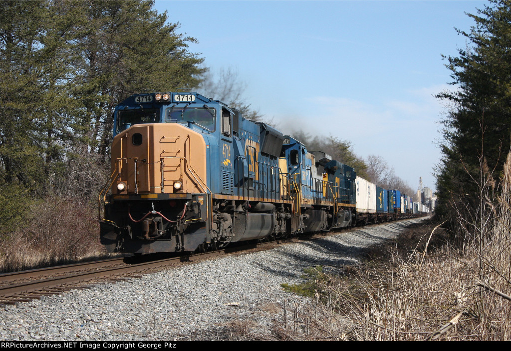 CSX L173 at Poplar, MD