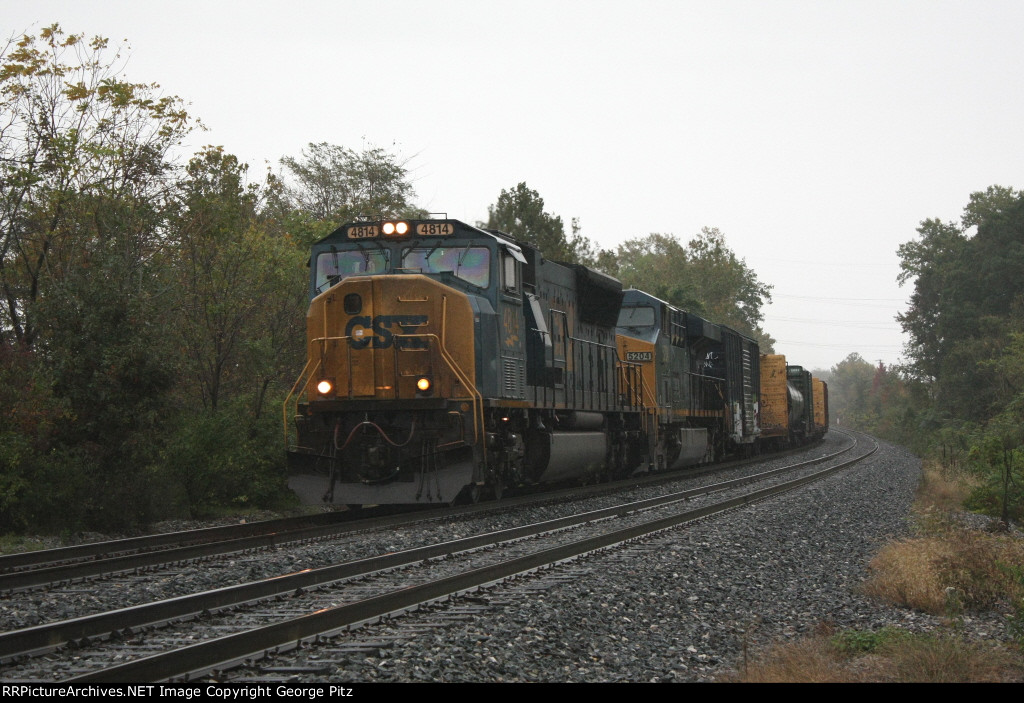 CSX train Q409 near MP BAK 86