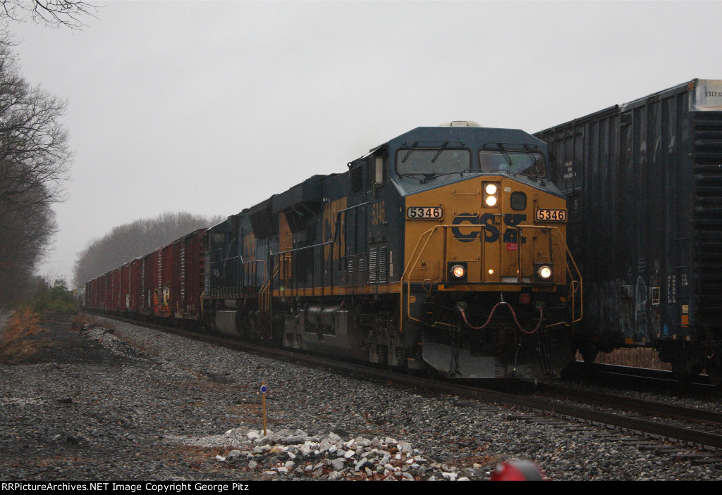 CSX 5346 at Rosedale, MD