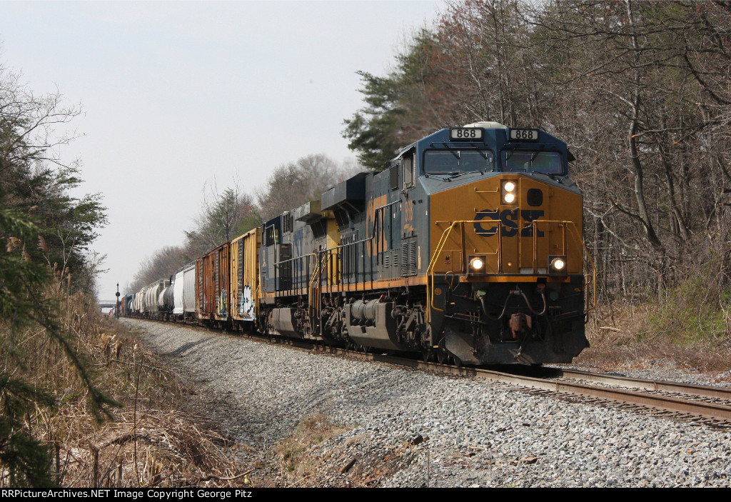 CSX Q438 at Poplar, MD