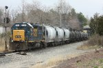 CSX 2560 on the rear of train D777