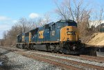 CSX locomotives 4701 and 8519
