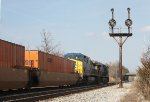 CSX Q174 at Rossville interlocking