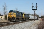 CSX 5202 at Rossville, MD