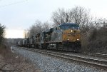 CSX 5355 and train at Rosedale, MD