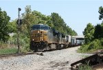 CSX train Q031 at Rossville interlocking