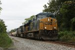 CSX train Q034 at Rossville, MD.