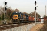 CSX 6424 at Rossville interlocking