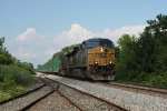 CSX trash train Q703