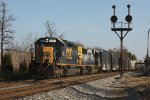 CSX D732 at Rossville interlocking