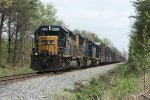 CSX 8383 at Poplar, MD