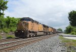 UP 6575 and CSX train K055
