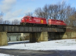 Canadian Pacific 4654 and 5672