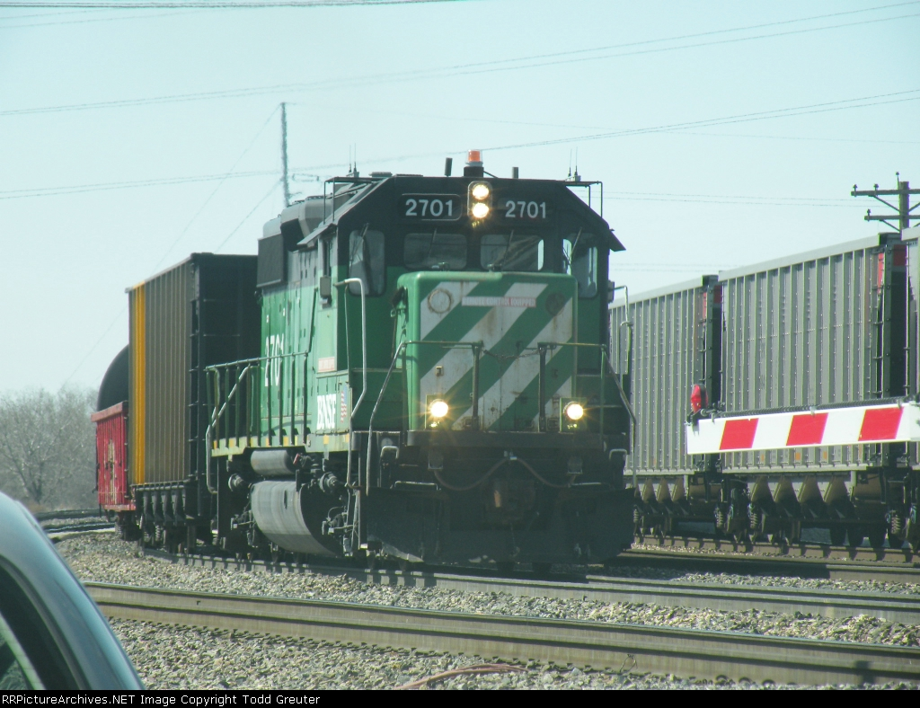 BNSF 2701