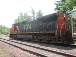 CN Engine # 2550 Waits At Riihinen Rd