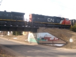CN Above Second St.