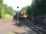 CN Action At Palmer Line Jct