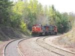 CN Splits The Signals At Eagle Mills Jct