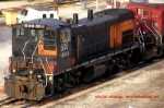 Spirit of Milwaukee 477 is conjurned in Muskego yard - 23 years after her BANDIT-tizing
