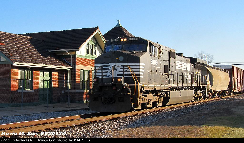NS 8899 leads NS 318