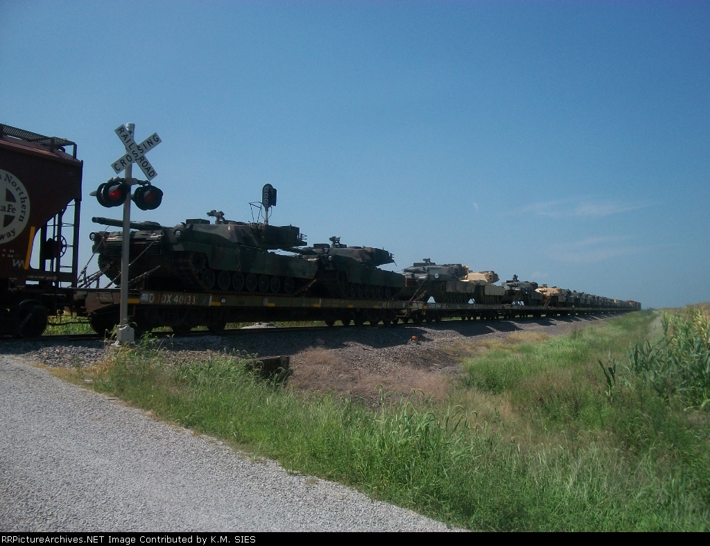 M1 Camoflodge Army Tanks