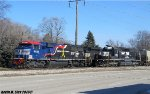 Veterans unit # 6920 passes Ex-Conrail 3388