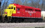 Arkansas & Oklahoma (AOK) GP30 # 2402