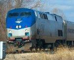 AMTK 837 on Amtrak 303