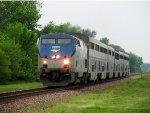 Amtrak Texas Eagle 22 w/ AMTK 815