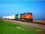 BNSF 4475 & BN 8166 lead H-MADGAL1-04A