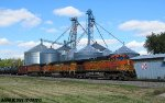 BNSF 4503 leads oil can
