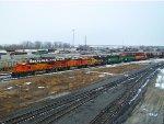 BNSF 553, BNSF 500, BNSF 2783, BNSF 2356, BNSF 3135, & BNSF 2391